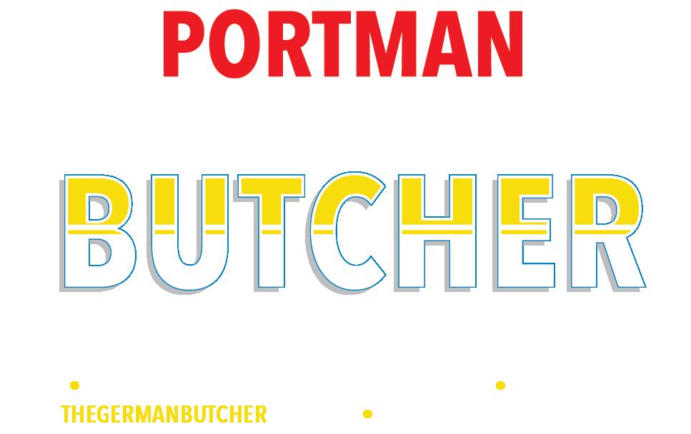 Portman Continental Butcher Logo
